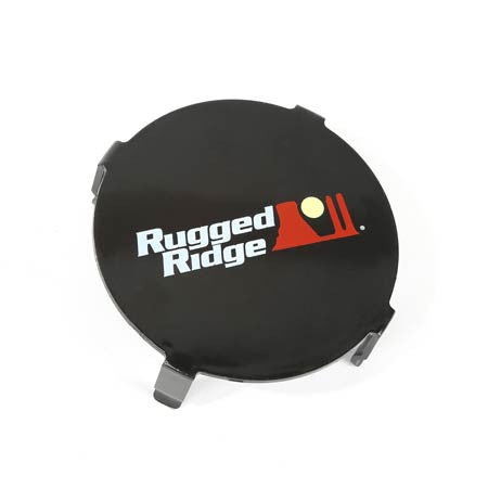 Rugged Ridge LED Light Cover, 3.5 Inch Round, Black (Universal)