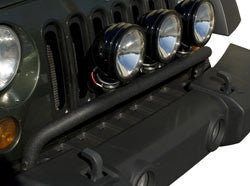 textured black Wrangler light bar