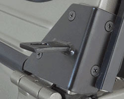 Rampage Black, Windshield Hinge Light Bracket ('97-'06 Wrangler TJ)