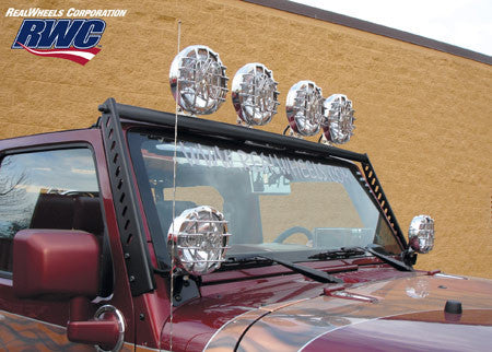 RealWheels Light Bar, Black ('07-'16 Wrangler JK)