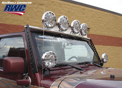 RealWheels Light Bar, Stainless Steel ('07-'16 Wrangler JK)