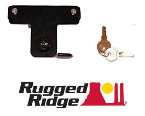 Rugged Ridge Hood Lock Kit ('07-'18 Wrangler JK)
