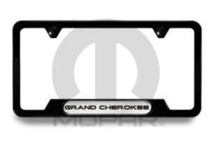 Mopar Jeep License Plate Frames ('11-'16 Grand Cherokee WK2)