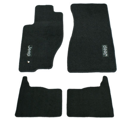 Jeep black floor mats