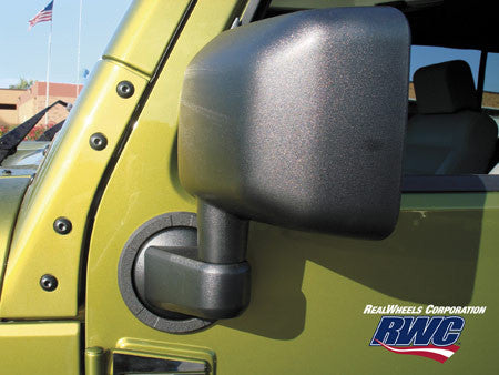 Jeep side mirror bezel