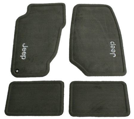 Mopar Carpet Mat Set Dark Taupe 99 04 Grand Cherokee