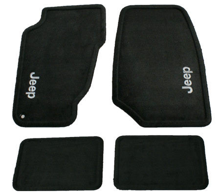 Mopar Carpet Mat Set, Dark Slate, ('99-'04 Grand Cherokee WJ)