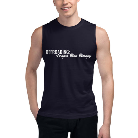 Cheaper Than Therapy Muscle Tank