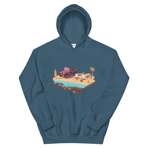 Jeep World Beach Life Unisex Hoodie