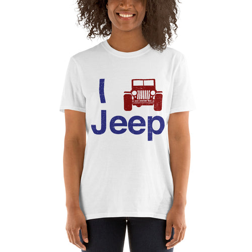 I Love Jeep T-Shirt Reboot