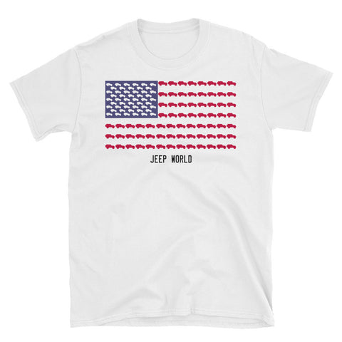 United States of Jeeps Unisex T-Shirt