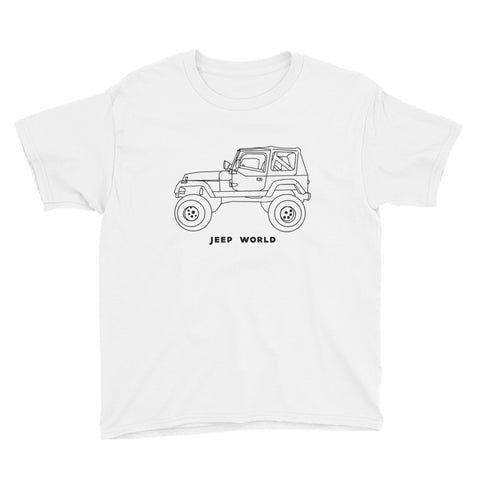 Youth Throwback Thursday YJ Color-In/Tie Dye T-Shirt