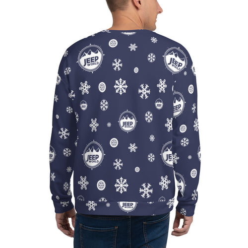 Jeep World Blizzard Unisex Sweatshirt