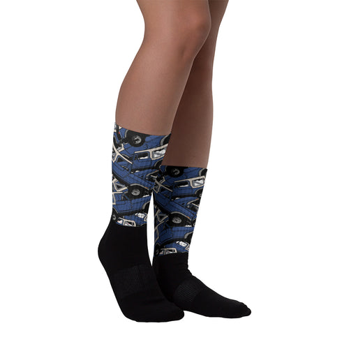 Jeep World CJ Pattern Socks