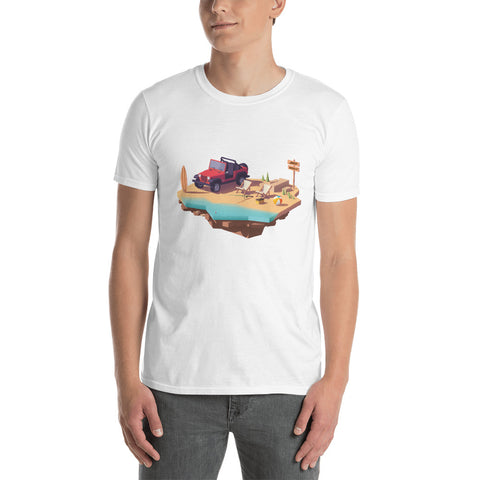 Jeep World Beach Life Unisex T-Shirt