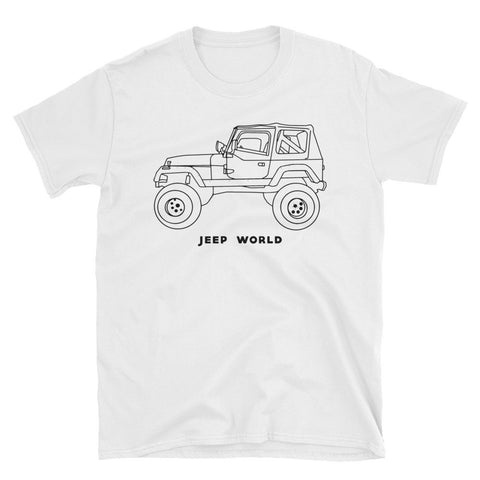 Throwback Thursday YJ Color-In/Tie Dye Unisex T-Shirt