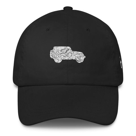 JeepWorld.com Map Dad Cap