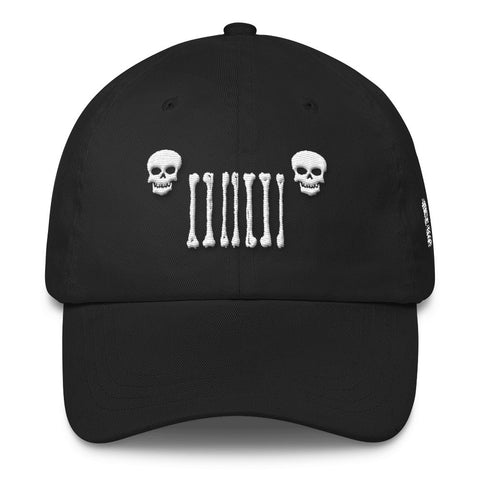 Jeep World Skull Grille Hat