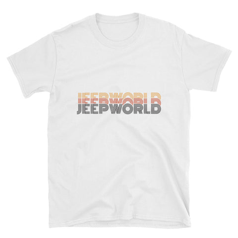 Retro Jeepworld Short-Sleeve Unisex T-Shirt