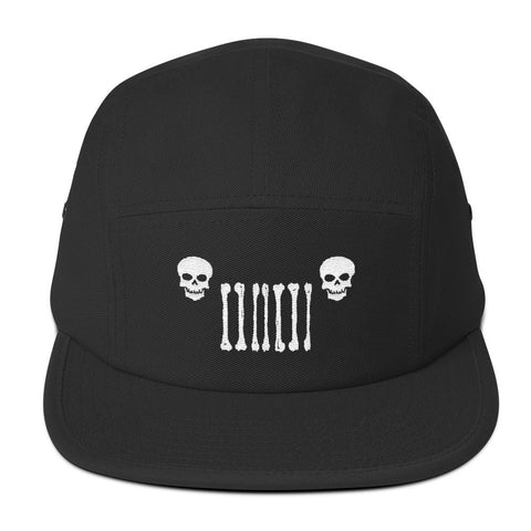 Jeep World Skull Grille Five Panel Cap