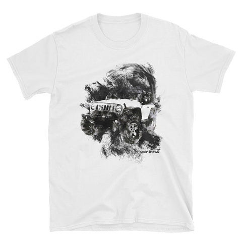 Jeep World Painted Wrangler Unisex T-Shirt