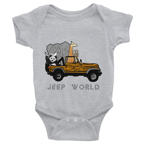 Jeep World Safari Infant Onesie