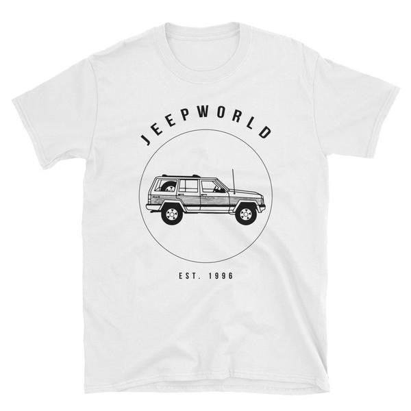 Jeep World XJ t shirt