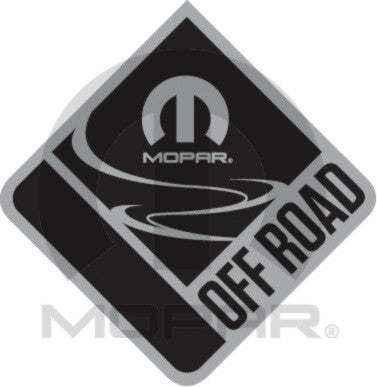 Mopar Off-Road Chrome Badge