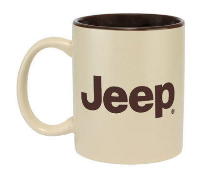 Jeep Coffee Mug, Two Tone