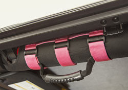 Pink Ultimate Grab Handles For Jeep Wrangler ('93-'18 Wrangler YJ, TJ, JK) - Jeep World