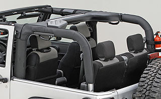 Rugged Ridge Roll Bar Covers For 2 Door ('07-'16 Wrangler JK)