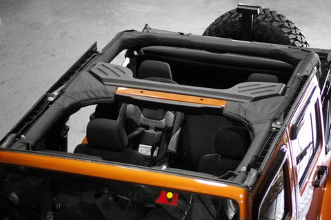 Rugged Ridge Roll Bar Covers For 4 Door ('07-'16 Wrangler JK)
