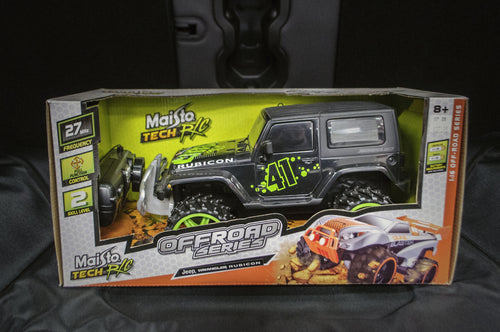 Remote Controlled Wrangler - in box