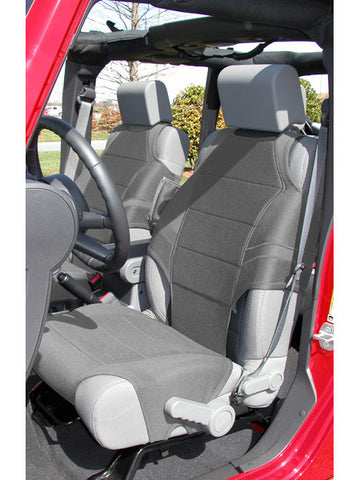 Rugged Ridge Wrangler Seat Protectors, Gray