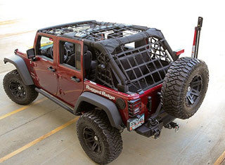 Rugged Ridge Jeep Wrangler Cargo Net, 2 & 4 Door ('07-'18 Wrangler JK) - Jeep World