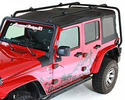 Rugged Ridge Sherpa Roof Rack for 2 Door ('07-'16 Wrangler JK)