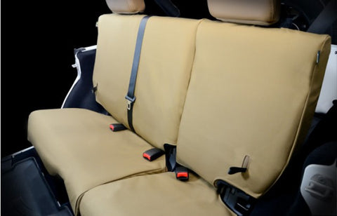 AEV CORDURA Rear Seat Covers 07 18 Wrangler JK
