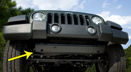 Skid Plate, Front by Rugged Ridge ('07-'18 Wrangler JK)