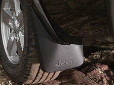 Mopar Splash Guards, Rear - 82209621 ('06-'10 Commander XK) - Jeep World
