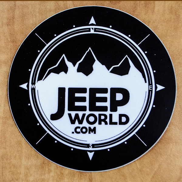 Jeepworld Com 4 Quot X4 Quot Vinyl Sticker Black Jeep World