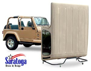 Saratoga Hardtop Storage Dolly, SWB and LWB ('97-06 Wrangler TJ) - Jeep World