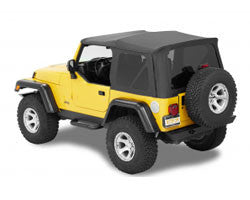Bestop Supertop NX Soft Top ('97-'06 Wrangler TJ)
