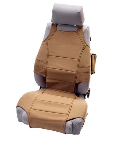 Rugged Ridge Wrangler Seat Protectors, Tan
