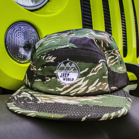 Jeep World Desert Five Panel Cap