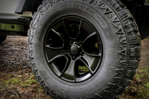18-Inch Cast Aluminum Wheel by Mopar ('07-'18 Wrangler JK)