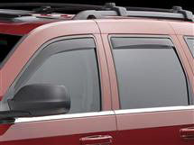 Dark-Tint Vent Visors, Rear Only, by WeatherTech ('99 - '04 Grand Cherokee WJ)