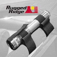 Rugged Ridge Sports Bar Flashlight Holder (Wrangler CJ, YJ, TJ, & JK)