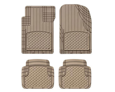 tan all weather mats