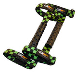 Finish Line Green Grab Handles, 3 inch