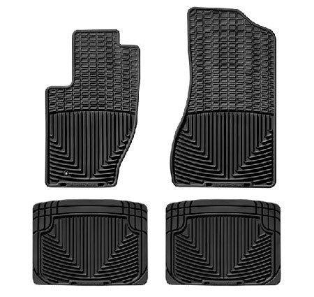 WeatherTech All-Weather Rear Mat Kit, ('93-'10 Grand Cherokee ZJ, WJ, WK)